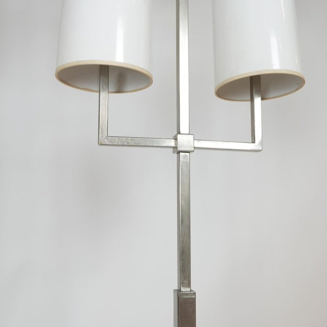 Amazing and rare Tommi Parzinger floor lamp designed exclusively for Lightolier. This is a hard to find and very practical...
