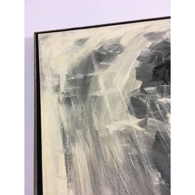 Black 1960s Vintage Turner Mfg. Company Reproduction Painting For Sale - Image 8 of 11