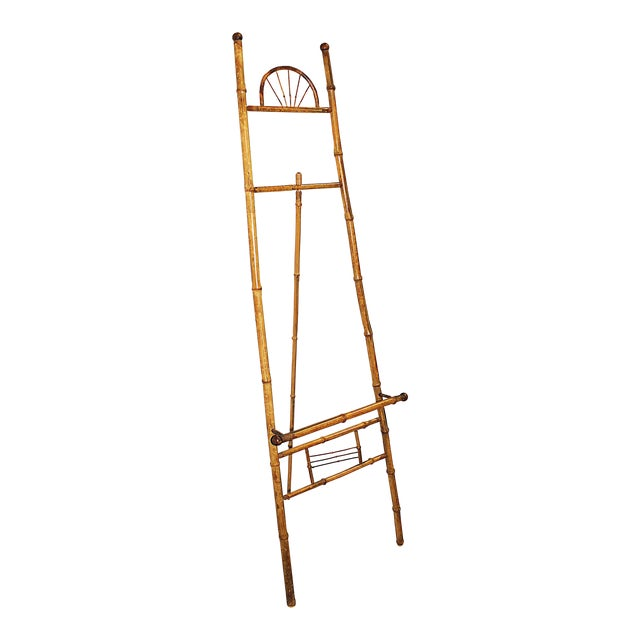 Antique Bamboo Easel - Image 1 of 4
