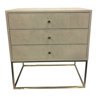Contemporary Style Mason 55 3-Drawer Chest For Sale