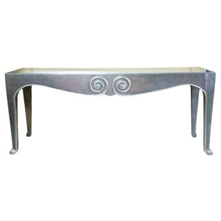 Art Deco Style Console Table For Sale