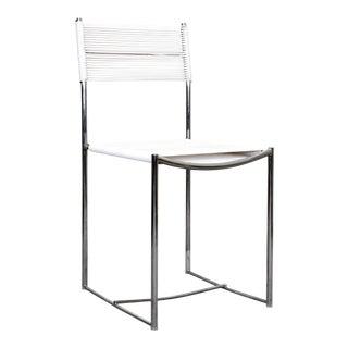 1970s White Spaghetti Chair by Giandomenico Belotti for Alias For Sale