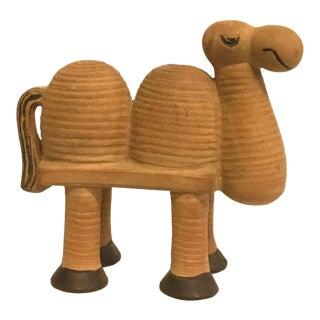 Lisa Larson Gustavsberg Stoneware Camel Figurine For Sale