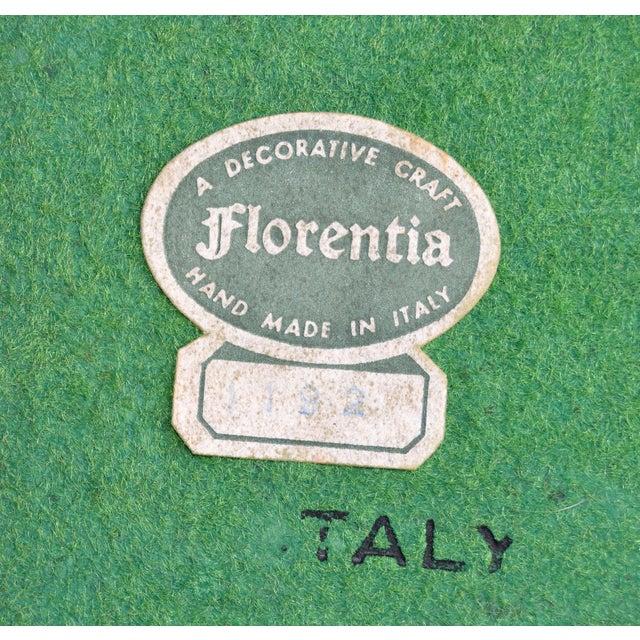 Gold Vintage Florentia Tole Gilt Wood Bowl For Sale - Image 8 of 8