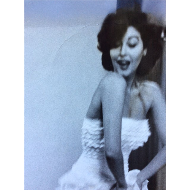This is a rare original gelatin silver photograph of Ava Gardner taken in 1954 an used in Life Magazine October 18. This...