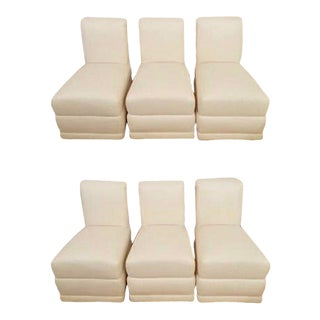 1970s Vintage Weiman Warren Lloyd Dining Chairs- Set of 6 For Sale
