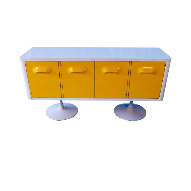 Raymond Loewy Style Chapter One Broyhill Premier Credenza Dresser Cabinet For Sale - Image 11 of 11