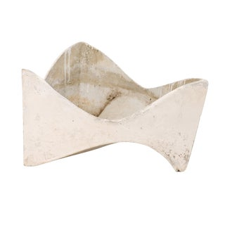 Willy Guhl Abstract Triangular Eternite Planter in Rare Style For Sale