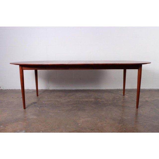 Wood Dining Table by Finn Juhl for Baker For Sale - Image 7 of 13