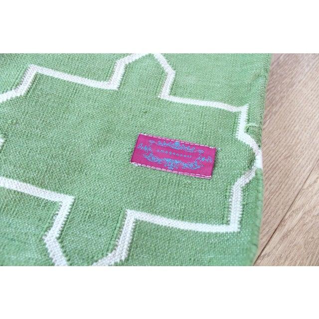 Olive Green 8x10 Area Rug: Madeline Weinrib Green Brooke Area Rug - 8' X 10'