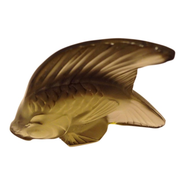 Lalique Angel Fish Moss For Sale