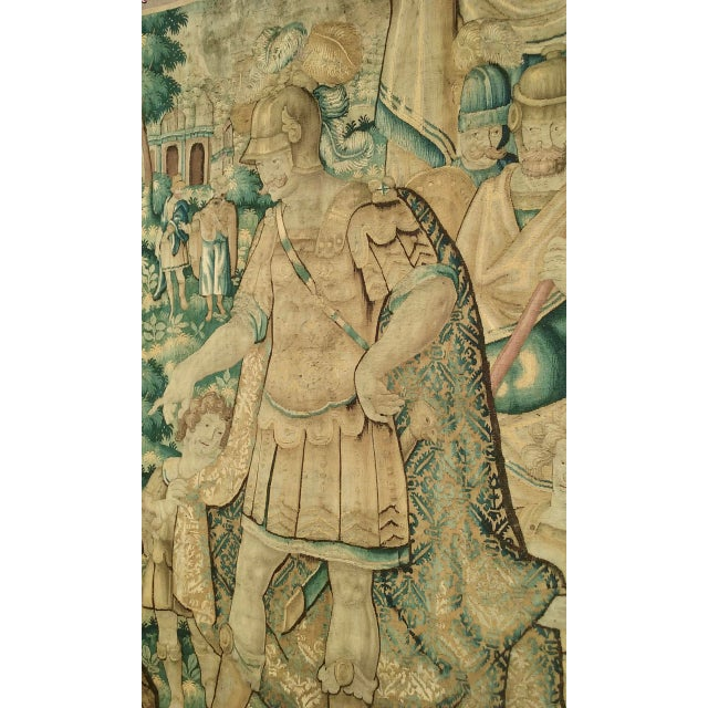 This tapestry is a perfect exemple of Flemish tapestries from the 1500 hundreds more precisely from Oudenaarde that was a...