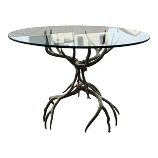 Arthur Court Antler Horn Table