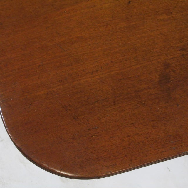 Early 19th Century 19th Century Regency Drop Leaf Mahogany Table For Sale - Image 5 of 12