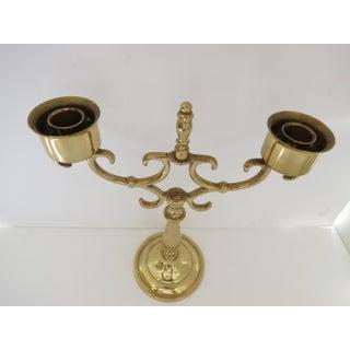 1980's Vintage Brass Candelabra Preview