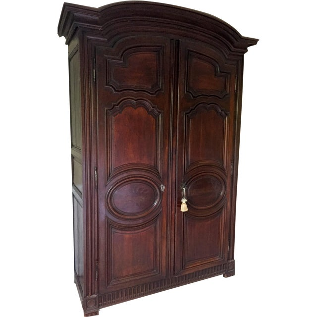 17th c louis xiii walnut armoire chairish. Black Bedroom Furniture Sets. Home Design Ideas