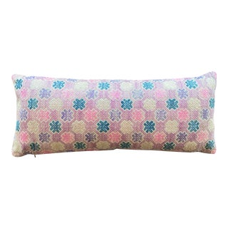 Dong Hill Tribe Wedding Quilt Lumbar Pillow For Sale