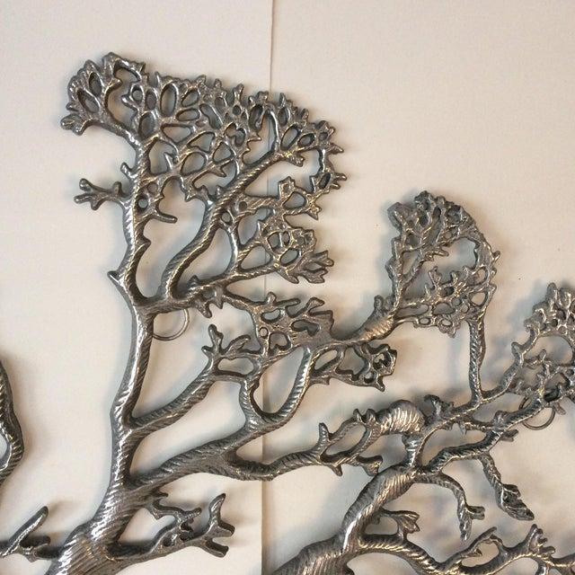 Mid-Century Industrial Aluminum Tree of Life - Image 10 of 11