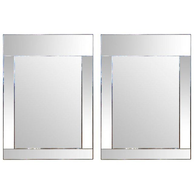 Pair of Large Scale La Barge Mirrors For Sale - Image 11 of 11