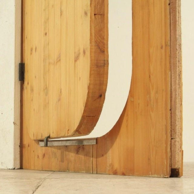 Charlotte Perriand Charlotte Perriand Pine Door from Les Arcs Ski Resort, France, 1960s For Sale - Image 4 of 4
