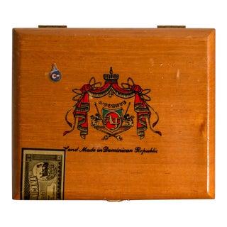 Vintage Arturo Fuente Cuban Corona Maduro Cigar Box