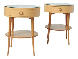 Image of Wood Side Tables