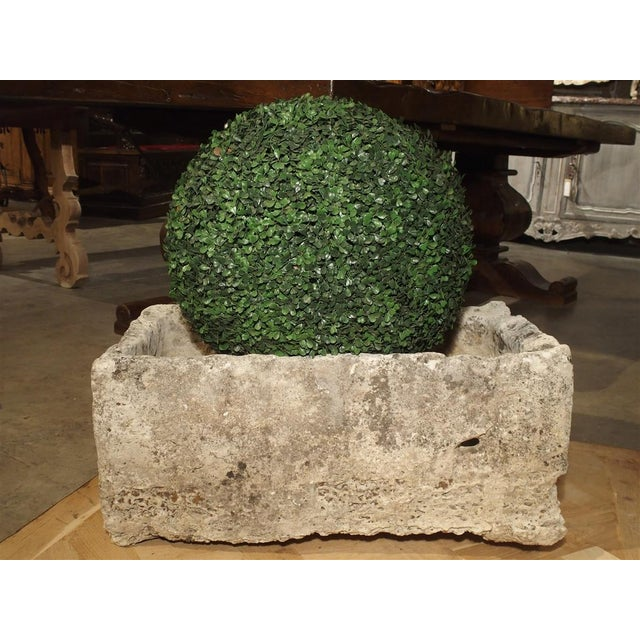 18th Century French Stone Farmhouse Trough For Sale - Image 11 of 13