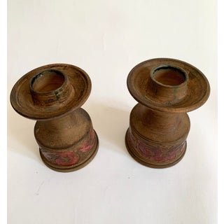 Vintage Italian Ceramic Candlestick Holders Preview