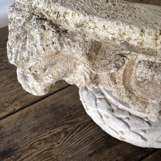 Neoclassical Rams Head Urns For Sale - Image 3 of 7