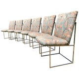 Image of Milo Baughman Dining Chairs - Set of 4 For Sale