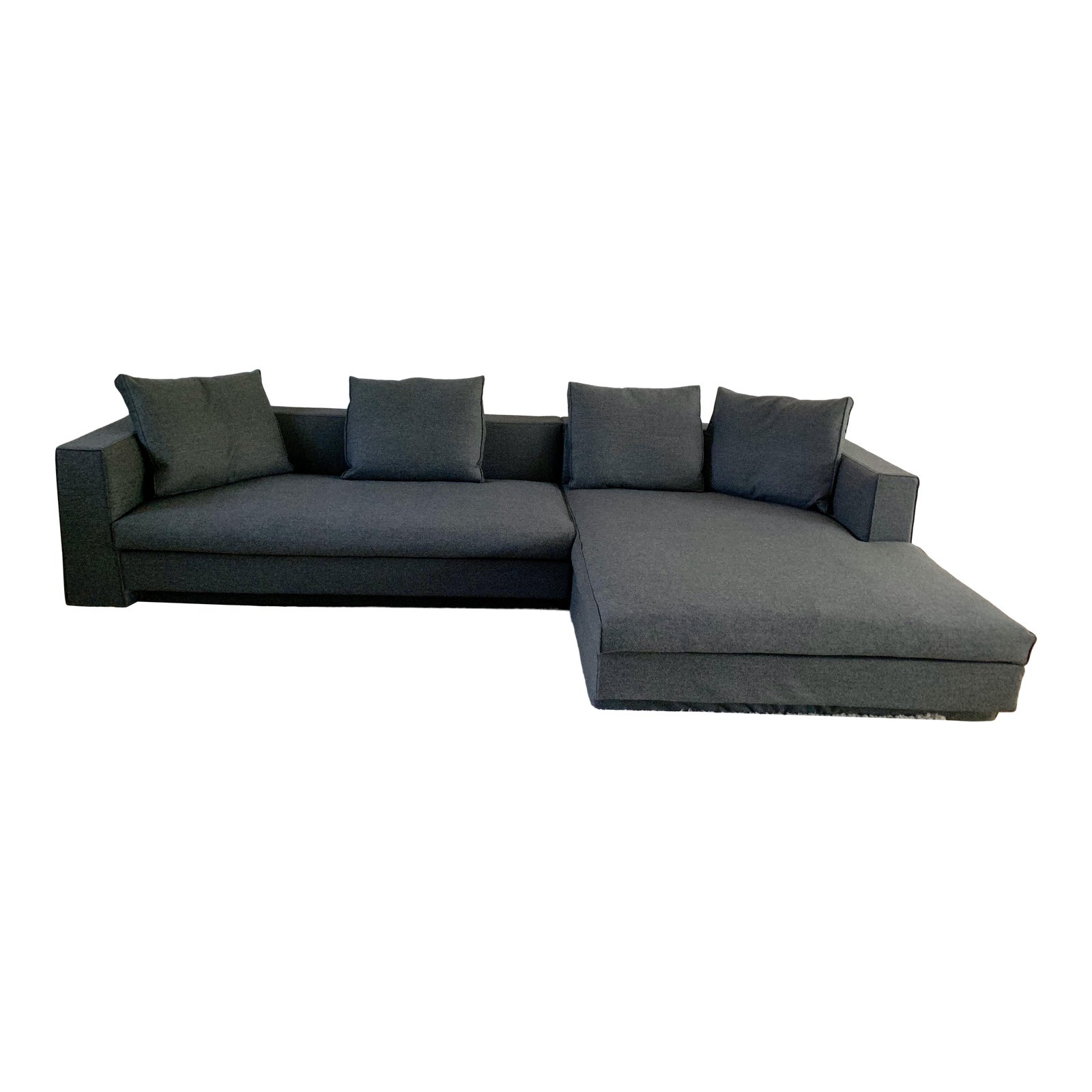 Modern Jens Eilersen Scandinavian Modern Sectional Sofa | Chairish