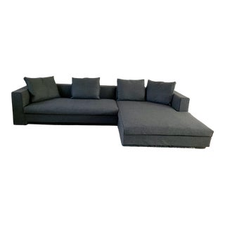 Modern Jens Eilersen Scandinavian Modern Sectional Sofa For Sale