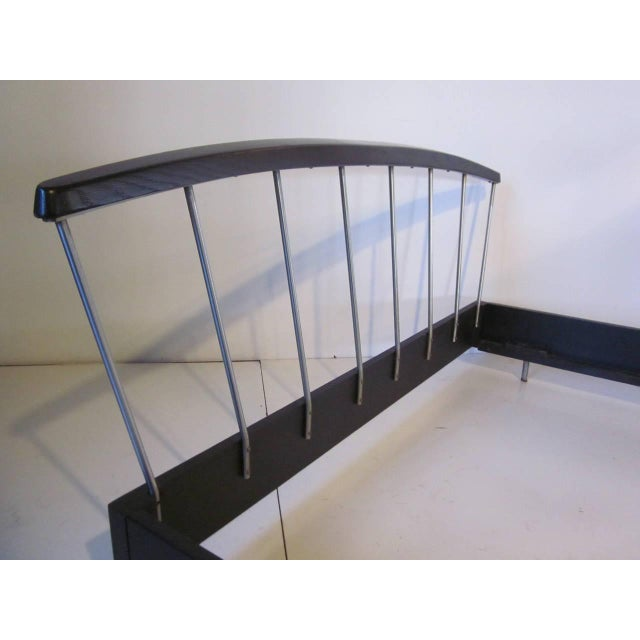 Metal Raymond Loewy for Mengel Bed Frame For Sale - Image 7 of 7