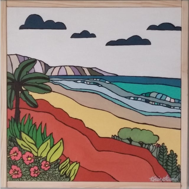 """""""Sand"""" Color Block Art by Kris Gould - Image 1 of 5"""