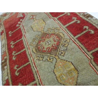 """Vintage Turkish Red Runner-1'8'x3'7"""" Preview"""
