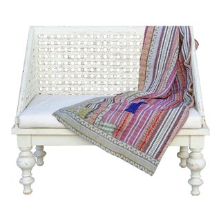 Lavin Bengal Kantha Throw For Sale