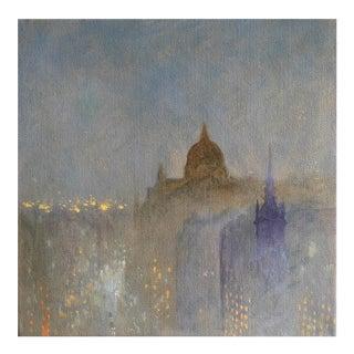 Alexander MacFaul 'Winter Evening, St Paul's, London' For Sale