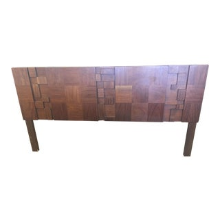 1960s Brutalist Paul Evans Mosaic Headboard For Sale