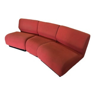 Orange Herman Miller Chadwick Modular Seating