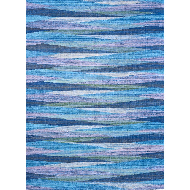 Schumacher Nils Hand-Woven Area Rug, Patterson Flynn Martin For Sale