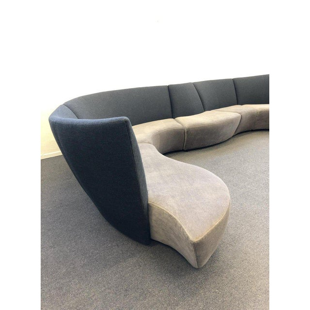 Five Piece Sectional Sofa by Vladimir Kagan for Preview For Sale - Image 9 of 13