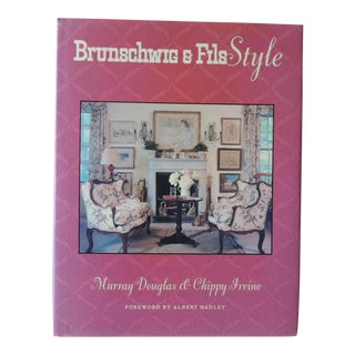 Brunschwig & Fils Style Hardcover Book For Sale