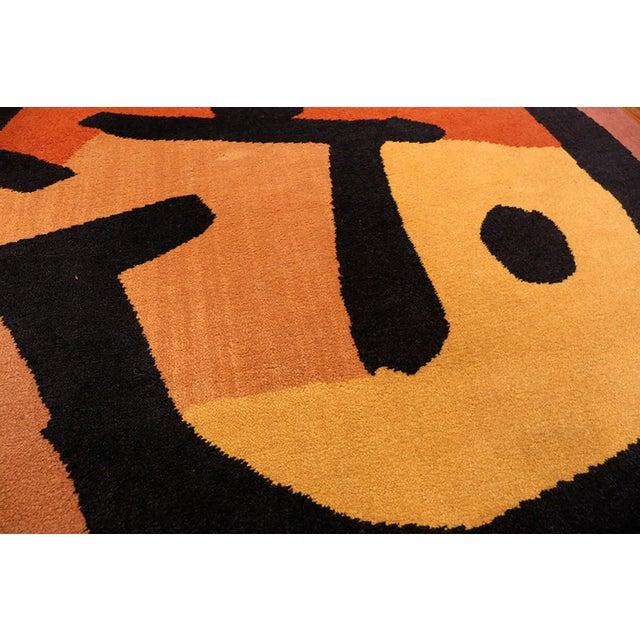 Paul Klee Artist Scandinavian Rug - 4′8″ × 6′6″ For Sale - Image 9 of 13