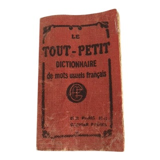 Le Tout-Petit French Dictionary For Sale
