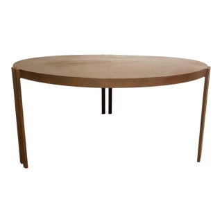 Hammered Bronze Finish Rotunda Table For Sale