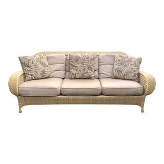 Oscar De La Renta Punta Cana Design Patio Sofa For Sale