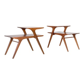 Mid-Century Modern John Van Koert for Drexel Side Tables For Sale