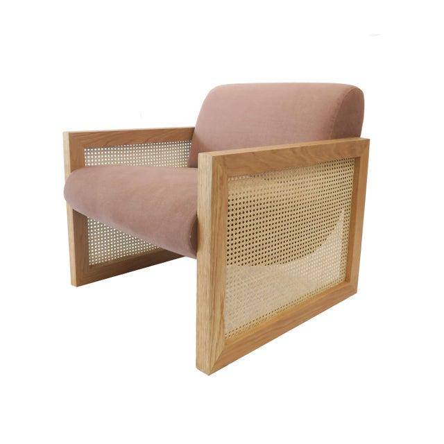 Custom Cane Armchair - Image 10 of 10