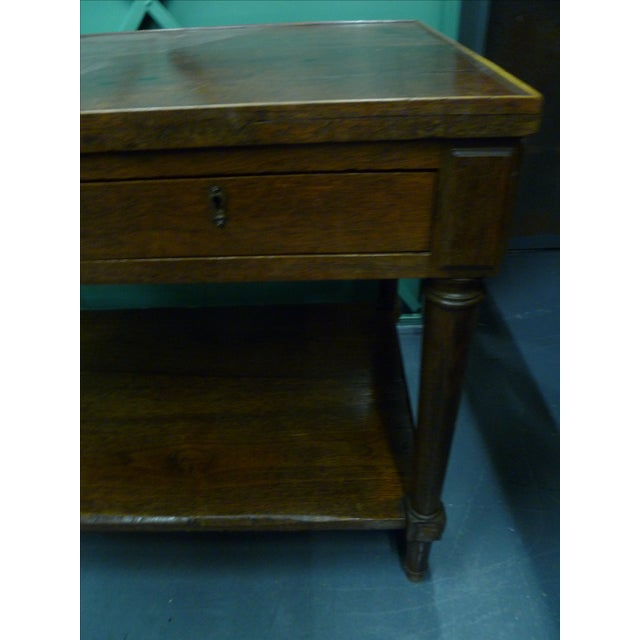 Antique French Mahogany Side Tables - Pair - Image 5 of 11