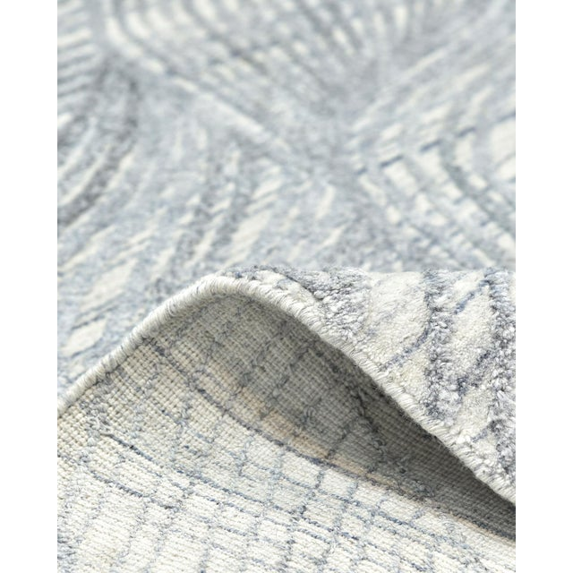2020s Shiva, Contemporary Modern Hand Loomed Area Rug, Mist, 9 X 12 For Sale - Image 5 of 10